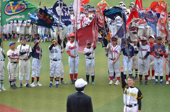 京葉少年野球連盟 第42回春季大会開会式