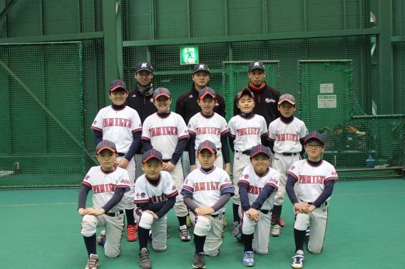 千葉市ホームタウン野球教室
